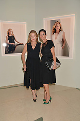 Left to right, DIANA KRALL and MARY McCARTNEY at the De Beers Moments in Light - a celebration of telented women in association with Women For Women International featuring photographs by Mary McCartney held at Claridge's, Brook Street, London on 18th September 2015.