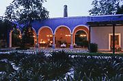 San José Cholul. A old henequen hacienda, now a luxury hotel.