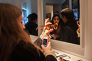 JEMMA TIBBALS, Black Eye eyewear's 1st Birthday, 38 Goodge Street,  London. W1. 16 January 2014.