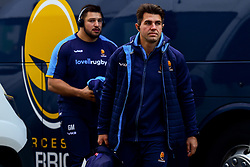Wynand Olivier arrives at Kingsholm prior to kick off - Mandatory by-line: Ryan Hiscott/JMP - 01/12/2018 - RUGBY - Kingsholm - Gloucester, England - Gloucester Rugby v Worcester Warriors - Gallagher Premiership Rugby