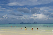 Thailand, Ko Hai. The beach.