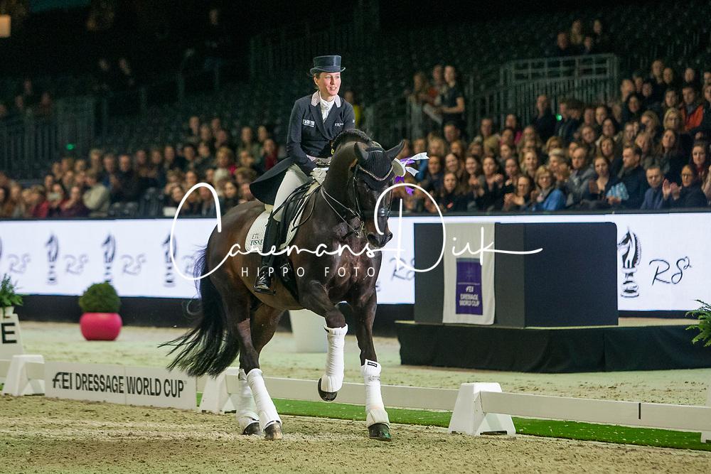 Langehanenberg Helen, GER, Damsey FRH<br /> FEI Dressage World Cup™ Grand Prix presented by RS2 Dressage - The Dutch Masters<br /> © Hippo Foto - Sharon Vandeput<br /> 14/03/19