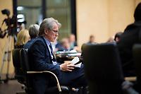 DEU, Deutschland, Germany, Berlin,22.09.2017: Berlins Finanzsenator Dr. Matthias Kollatz-Ahnen bei einer Sitzung im Bundesrat.