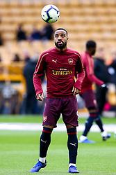Alexandre Lacazette of Arsenal - Mandatory by-line: Robbie Stephenson/JMP - 24/04/2019 - FOOTBALL - Molineux - Wolverhampton, England - Wolverhampton Wanderers v Arsenal - Premier League