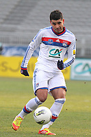 FOOTBALL - FRENCH CUP 2011/2012 - 1/8 FINAL - OLYMPIQUE LYONNAIS v GIRONDINS DE BORDEAUX - 08/02/2012 - PHOTO EDDY LEMAISTRE / DPPI - EDERSON (OL)