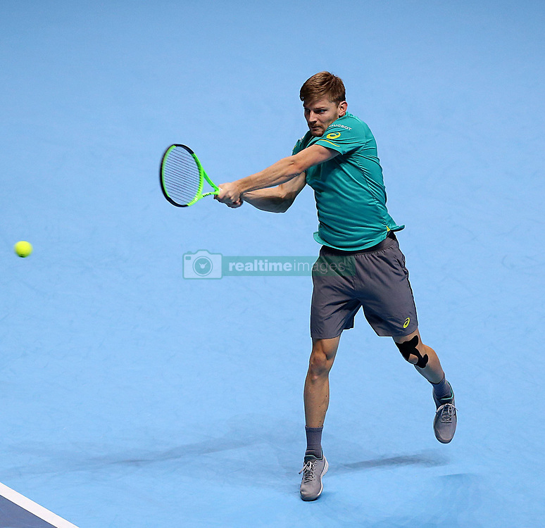 November 18, 2017 - Londres, Angleterre - David Goffin  (Credit Image: © Panoramic via ZUMA Press)