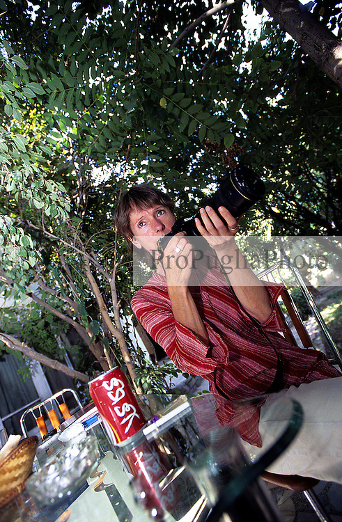Margaret Nielen, Laif Photo Editor, in Kabul