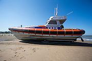 De reddingboot  Paul Johannes van de KNRM (Koninklijke Nederlandse ReddingMaatschappij) in Noordwijk aan Zee.<br /> <br /> The lifeboat John Paul of the KNRM (Royal Dutch Rescue Organization) in Noordwijk aan Zee.