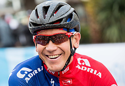 Kristian Fajt of KK Adria Mobil during the UCI Class 1.2 professional race 3rd Grand Prix Izola, on February 28, 2016 in Izola / Isola, Slovenia. Photo by Vid Ponikvar / Sportida