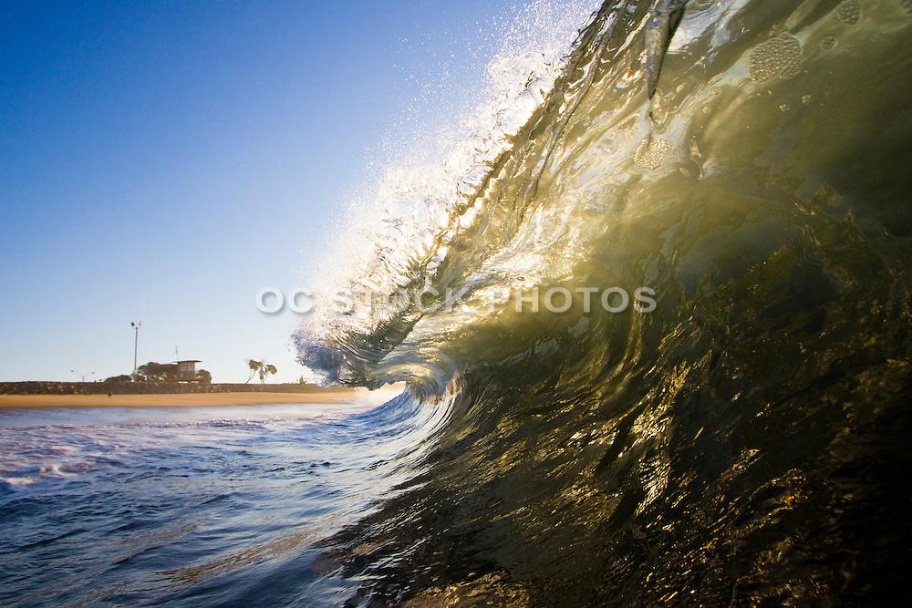 Newport Beach Surf Spot the Wedge