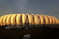 "Football Fifa World Cup Brazil 2014 / <br /> Porto Alegre - Rio Grande do Sul - Brazil - <br /> Opening Cerimony of New "" BEIRA RIO STADIUM "" on Porto Alegre - Rio Grande Do Sul / Brazil , <br /> Ready for the next FIFA World Cup Brazil 2014  , and able to accommodate a capacity of 48.849 Spectators"