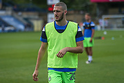 Forest Green Rovers Alexander Lacovitti(20) warming up during the EFL Sky Bet League 2 match between Wycombe Wanderers and Forest Green Rovers at Adams Park, High Wycombe, England on 2 September 2017. Photo by Shane Healey.