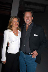 SVEN & ZOE LEY he is heir to the Escada fashion empire at an exhibition of work by Rolf Sachs - a unique world-renowned contemporary furniture designer, held in association with the Louisa Guinness Gallery and held at 250 Brompron Road, London on 6th October 2004.<br /><br />NON EXCLUSIVE - WORLD RIGHTS