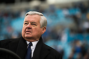 January 17, 2016: Carolina Panthers vs Seattle Seahawks. Jerry Richardson, Panthers' team owner