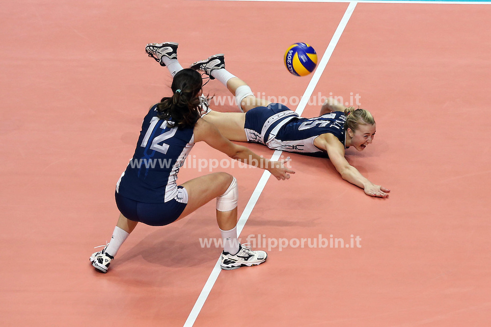 KIMBERLY HILL <br /> USA - CHINA <br /> FINAL VOLLEYBALL WOMEN'S WORLD CHAMPIONSHIP 2014<br /> MILAN (ITA) 12-10-2014<br /> PHOTO BY FILIPPO RUBIN