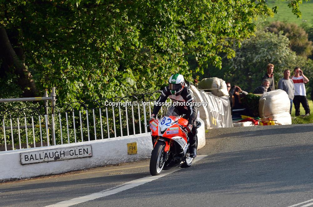 #82 Richard McLoughlin Yamaha McLoughlin Racing