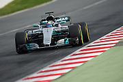 February 26, 2017: Circuit de Catalunya. Valtteri Bottas (FIN), Mercedes AMG Petronas Motorsport, F1 W08