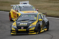 #39 Brett Smith WIX Racing with Eurotech Honda Civic Type R (FK2) during BTCC Race 1  as part of the Dunlop MSA British Touring Car Championship - Rockingham 2018 at Rockingham, Corby, Northamptonshire, United Kingdom. August 12 2018. World Copyright Peter Taylor/PSP. Copy of publication required for printed pictures.