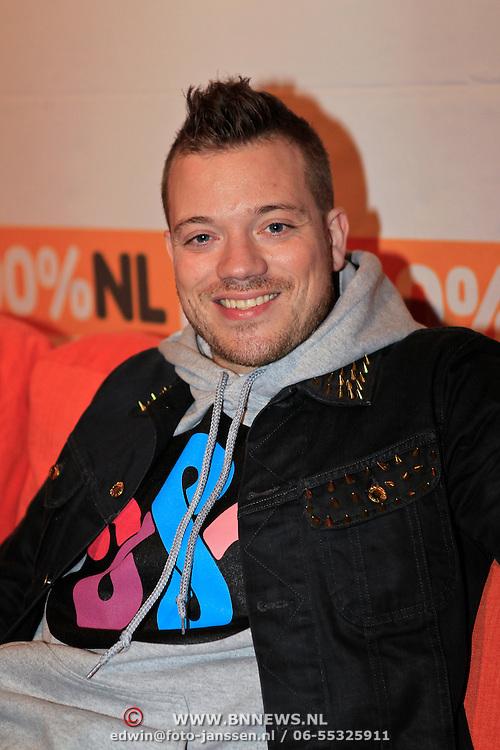 NLD/Hilversum/20130109 - Uitreiking 100% NL Awards 2012, Gers Pardoel