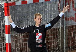 Agnes Triffa (1) at handball match of 2nd Round of EHF Women`s Championsleague between RK Krim Mercator (SLO) and Metz Handball (FRA), in Arena Kodeljevo, Ljubljana, Slovenia, on November 9, 2008. Metz  won match against RK Krim Mercator with 31:26.