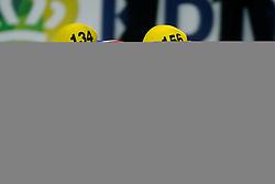14-01-2011 SHORTTRACK: ISU EUROPEAN SHORTTRACK SPEEDSKATING CHAMPIONSHIPS: HEERENVEEN<br /> Sjinkie Knegt NED and Jack Whelbourne GBR<br /> ©2011-WWW.FOTOHOOGENDOORN.NL