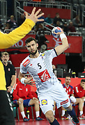 Nedim Remili (France) during the EHF 2018 Men's European Championship, 2nd Round, Handball match between Serbia and France on January 22, 2018 at the Arena in Zagreb, Croatia - Photo Laurent Lairys / ProSportsImages / DPPI