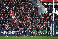 Deception Toulouse - 18.01.2015 - Toulouse / Bath - European Champions Cup<br />Photo : Manuel Blondeau / Icon Sport