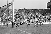 Kilkenny attempt to score during at the All Ireland Senior Hurling Final, Cork v Kilkenny in Croke Park on the 3rd September 1972. Kilkenny 3-24, Cork 5-11.