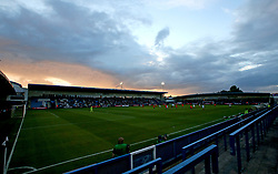 The sunsets over England Under 20s v Netherlands Under 20s at The New Bucks Head, home of AFC Telford United - Mandatory by-line: Robbie Stephenson/JMP - 31/08/2017 - FOOTBALL - Telford AFC - Telford, United Kingdom - England v The Netherlands - International Friendly