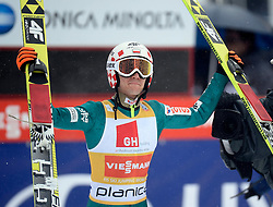 23.03.2014, Planica, Ratece, SLO, FIS Weltcup Ski Sprung, Planica, Grossschanze Herren Einzel, im Bild Kamil Stoch / Kamil Stoch during the mens individual large Hill of the FIS Ski jumping Worldcup Cup finals at Planica in Ratece, Slovenia on 2014/03/23. EXPA Pictures © 2014, PhotoCredit: EXPA/ Newspix/ Irek Dorozanski<br /> <br /> *****ATTENTION - for AUT, SLO, CRO, SRB, BIH, MAZ, TUR, SUI, SWE only*****