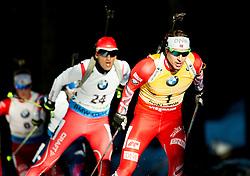 SVENDSEN Emil Hegle (NOR) competes during Men 15 km Mass Start at day 4 of IBU Biathlon World Cup 2014/2015 Pokljuka, on December 21, 2014 in Rudno polje, Pokljuka, Slovenia. Photo by Vid Ponikvar / Sportida