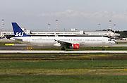 SAS - Scandinavian Airlines, Airbus A321 at Milan, Italy