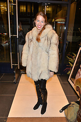 ISABELLA BRODEN at a party to celebrate the launch of Olivia von Halle, 151 Sloane Street, London on 25thNovember 2015