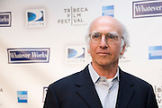 "Larry David at Woody Allen's new movie ""Whatever Works"" premiered April 22, 2009 at the Tribeca Film Festival - Ziegfeld Theatre, New York."