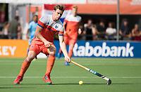 WAALWIJK -  RABO SUPER SERIE . Mirco Pruyser (Ned)   tijdens  de hockeyinterland heren  Nederland-India (3-4),  ter voorbereiding van het EK,  dat vrijdag 18/8 begint.  COPYRIGHT KOEN SUYK