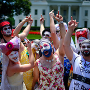 The Families Belong Together Protest March held on June 30, 2018 in Washington DC.