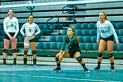 BLOOMINGTON, IL - August 24: Jenna Curbis during  the IWU Titans Women<br /> s Volleyball Green-White scrimmage on August 24 2019 at Shirk Center in Bloomington, IL. (Photo by Alan Look)