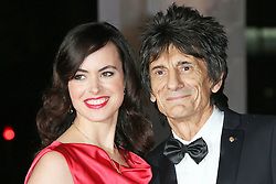 © Licensed to London News Pictures. 11/12/2013, UK. <br /> <br /> Sally Humphreys; Ronnie Wood, attends A Night Of Heroes: The Sun Military Awards, National Maritime Museum, London UK, 11 December 2013. Photo credit : Richard Goldschmidt/Piqtured/LNP
