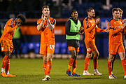 Luton players thanks the fans after the The FA Cup 3rd round replay match between Luton Town and Sheffield Wednesday at Kenilworth Road, Luton, England on 15 January 2019.