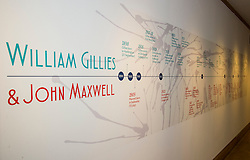 Pictured: <br /> The City Art Centre's summer exhibition will cover two floors of the gallery with artworks from William Gillies and John Maxwell. The exhibition will open to the public this weekend as part of the Edinburgh Art Festival 2016<br /> <br /> Ger Harley   EEm 28 July 2016