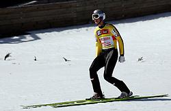 17.03.2012, Planica, Kranjska Gora, SLO, FIS Ski Sprung Weltcup, Team Skifliegen, im Bild #Thomas Morgenstern (AUT),  during the FIS Skijumping Worldcup Flying Hill Team, at Planica, Kranjska Gora, Slovenia on 2012/03/17. EXPA © 2012, PhotoCredit: EXPA/ Oskar Hoeher.