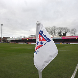 TELFORD COPYRIGHT MIKE SHERIDAN A general view of Bootham Crescent during the Vanarama Conference North fixture between AFC Telford United and York City at Bootham Crescent on Saturday, January 11, 2020.<br /> <br /> Picture credit: Mike Sheridan/Ultrapress<br /> <br /> MS201920-040