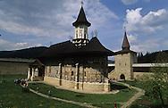 Romania. Sucevita  monatery. orthodox monastery, paintings / monastere orthodoxe peint   sucevita  Roumanie