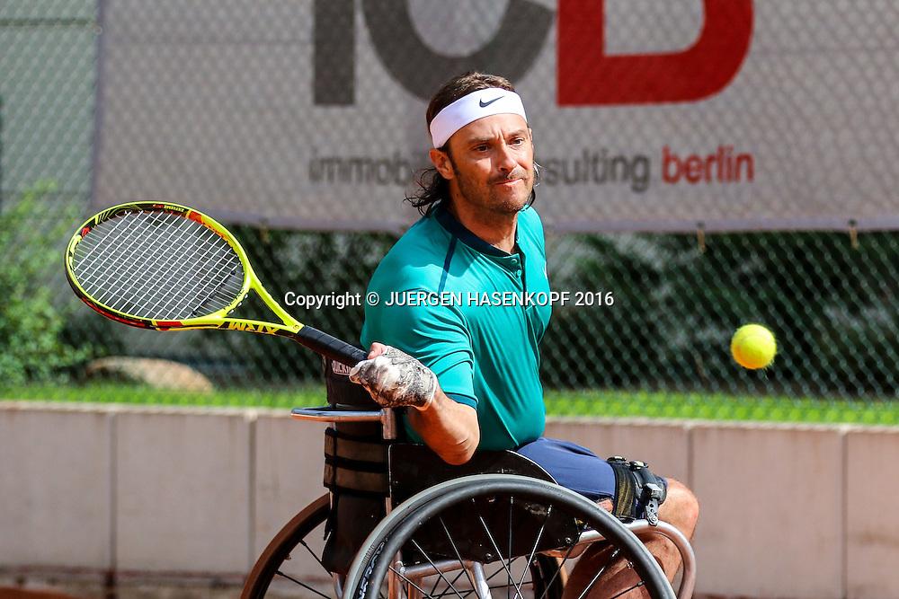 David Wagner (USA), 28. German Open - Wheelchair Tennis, BTTC Gr&uuml;n-Wei&szlig;, Berlin<br /> <br /> Tennis - 28.German Open - Wheelchair Tennis, - ITF -   BTTC Gr&uuml;n-Wei&szlig; Berlin - Berlin -  - Germany  - 23 July 2016.