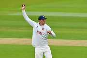 Dan Lawrence of Essex during the second day of play in the Specsavers County Champ Div 1 match between Hampshire County Cricket Club and Essex County Cricket Club at the Ageas Bowl, Southampton, United Kingdom on 28 April 2018. Picture by Graham Hunt.