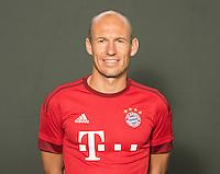 German Soccer Bundesliga 2015/16 - Photocall of FC Bayern Munich on 16 July 2015 in Munich, Germany: Arjen Robben