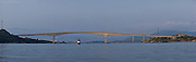 Sammensatt Panorama av Herøybrua.
