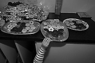 Joe reaches for the biscuit tray at a party in  Berkhamsted, England Saturday, April 18, 2015 (Elizabeth Dalziel) #thesecretlifeofmothers #bringinguptheboys #dailylife