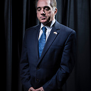 Veterans Affairs Secretary, David Sulking sat down for an exclusive interview for The USA Today, in Washington, D.C., on Monday, February, 26, 2018. Secretary Shulkin answered questions, after a tumultuous two weeks following the release of an inspector general's report that found he improperly accepted Wimbledon tickets and taxpayer-funded airfare for his wife during a European trip last year.  For The USA Today