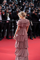 Actress Sienna Miller at the gala screening for the film Macbeth at the 68th Cannes Film Festival, Saturday 23rd May 2015, Cannes, France.